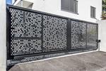 Perforált lemez kerítés